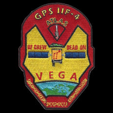 SP-50 GPS IIF Atlas Vega NASA Patch