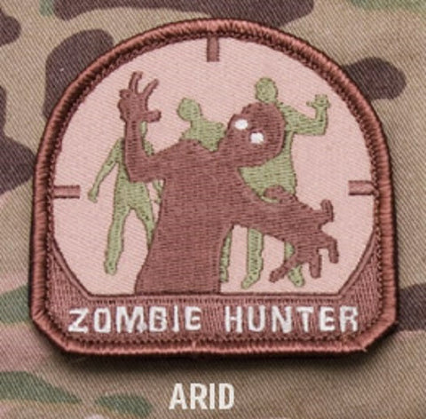 ZOMBIE HUNTER Hook Backing Patch - ARID