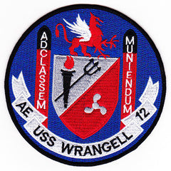 AE-12 USS Wrangell Ammunition Ship Military Patch