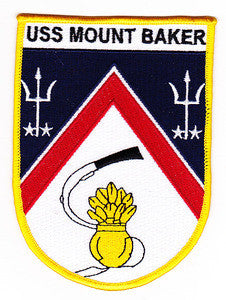 AE-34 USS MOUNT BAKER AMMUNITION SHIP Military Patch