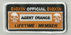 AGENT ORANGE OFFICIAL MEMBERSHIP PATCH