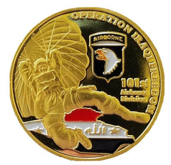 Operation Iraqi Freedom 101st Airborne Division Challenge Coin