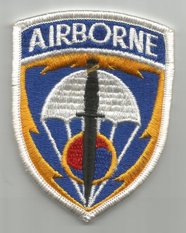 ARMY Special Operations Command SOC KOREA AIRBORNE SOCKOR MILITARY PATCH