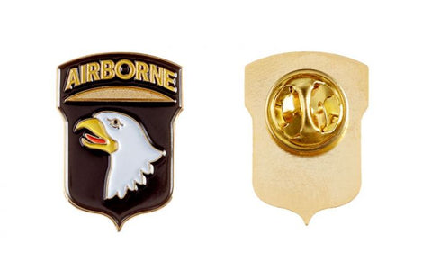 "101st Airborne Division ""Screaming Eagles"" Lapel Pin"