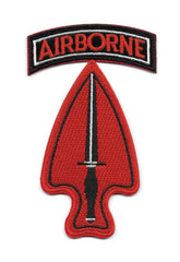 Special Operations Command Airborne USASOC Army Military Patch