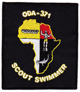 ARMY A Co 3rd Battalion 3rd Special Forces Group Operational Detachment Alpha ODA-371 Military Patch SCOUT SWIMMER