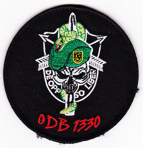 United States ARMY Co C 3rd Batttalion 1st Special Forces Group Operational Detachment Bravo ODB-1330 Military Patch VELCRO
