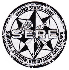 ARMY Survival Evasion Resistance and Escape SERE School Military Patch