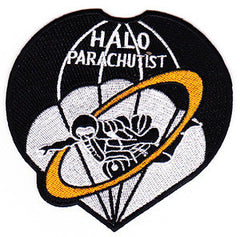 US Armed Forces High Altitude Low Opening HALO Parachutist Military Patch
