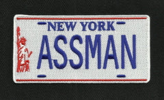 ASSMAN License Plate Patch