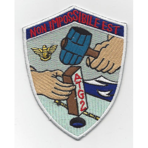 ATG-2 Air Task Group Two Navy Military Patch