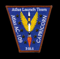 SP-217 NASA Atlas Launch Team AC-109 Patch