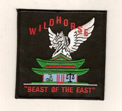 "ARMY 160th Special Operations Aviation Regiment Military Patch WILDHORSE ""BEAST OF THE EAST"""