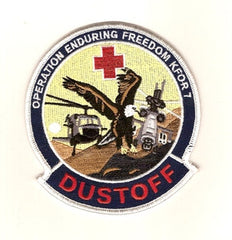 ARMY 1st/24th Med Co (AA) and 717th K for 7 Medical Company (AA) Air Ambulance Military Patch OEF DUSTOFF
