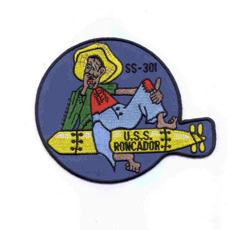 SS-301 USS RONCADOR DIESEL SUBMARINE MILITARY PATCH