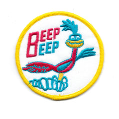 BEEP BEEP Roadrunner Racing Vintage Patch