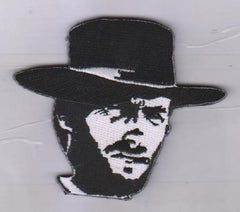 MAN WITH NO NAME VELCRO PATCH BLACK & WHITE