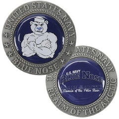 Realm of the Arctic BLUE NOSE Challenge Coin