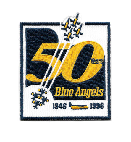 Blue Angels 50th Anniversary Patch