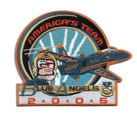 Blue Angels AMERICA'S TEAM 2005 Patch