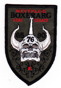 LHD-4 USS BOXER United States Navy Amphibious Ready Group LCAC Legacy 65 76 90 Military Patch WESTPAC-11