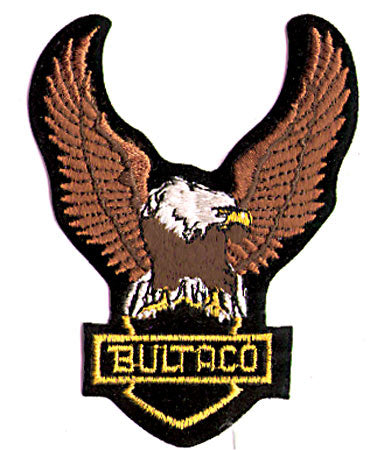 BULTACO Eagle Upwings Motorcycle Vintage Patch