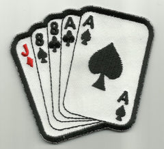 ACES & EIGHTS - DEAD MANS HAND - PATCH
