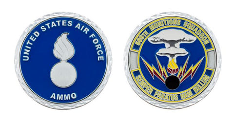 509th Munitions Squadron Whiteman Air Force Base AMMO Challenge Coin