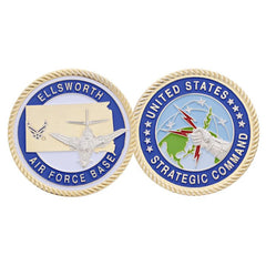 STRATACOM Ellsworth Air Force Base AFB South Dakota Challenge Coin