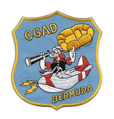Coast Guard Air Detachment BERMUDA CGAD USCG Patch POPEYE