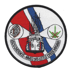 US COAST GUARD WMEC-165 USCGC CHEROKEE MEDIUM ENDURANCE CUTTER LITTLE CREEK, VA PATCH