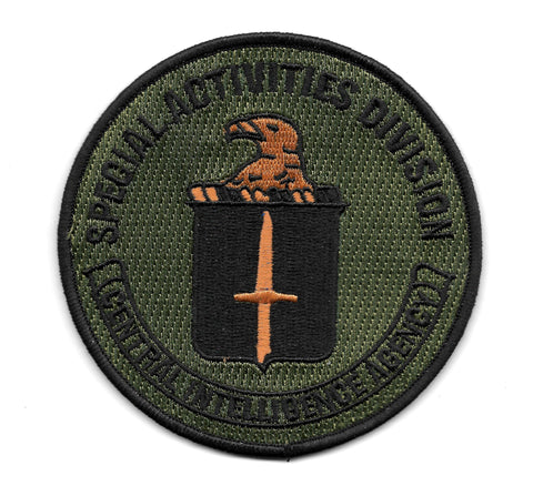 Central Intelligence Agency CIA Special Activities Division SAD Collectors Patch