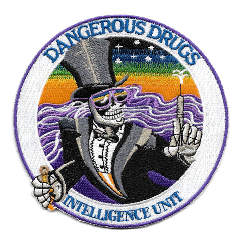 Dangerous Drugs Intelligence Unit Collectors Patch