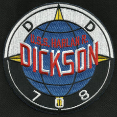 DD 708 USS HARLAN R DICKSON ALLEN M SUMNER DESTROYER SHIP MILITARY PATCH