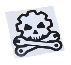 DEATH MECHANIC GEARHEAD COMBAT STICKER DECAL