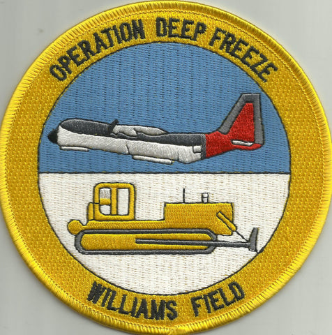 NAS Naval Air Station Williams Field Military Patch - DEEP FREEZE