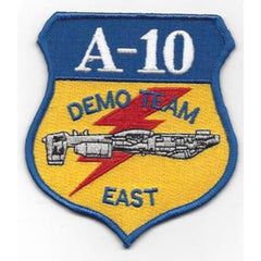 A-10 Thunderbolt II Demo Team East USAF Military Patch - United States Air Force