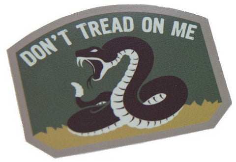 DON'T TREAD ON ME TACTICAL COMBAT DECAL STICKER - MULTICAM