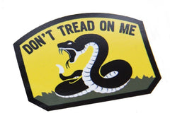 DON'T TREAD ON ME TACTICAL COMBAT DECAL STICKER - FULL COLOR