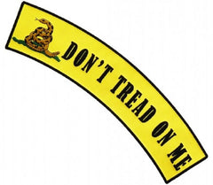 DON'T TREAD ON ME TOP UPPER ROCKER PATCH