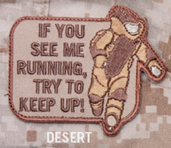 EOD RUNNING VELCRO PATCH - DESERT