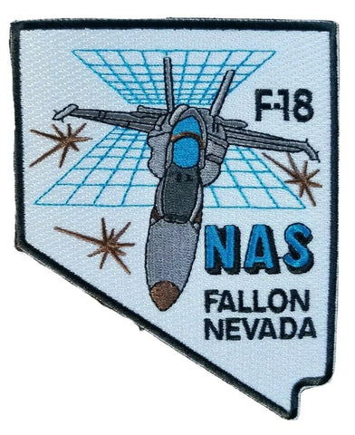 NAS Fallon F-18 Naval Air Station Fallon Nevada Military Patch