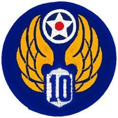 10th AIR FORCE MILITARY PATCH