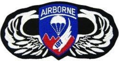 187th Airborne Wings ARMY Military Patch