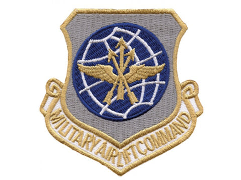 MILITARY AIRLIFT COMMAND AIR FORCE MILITARY PATCH