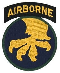 17th Airborne Division Army Military Patch