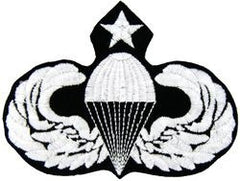 Senior Paratrooper Parachutist Badge Military Patch
