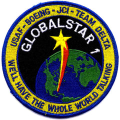 SP-274 NASA Delta Rocket Launch Of Boeing And Globalstar 1 Satellite Patch