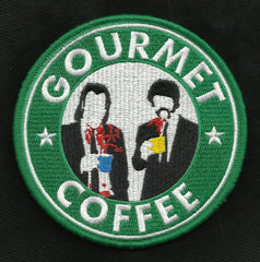 GOURMET COFFEE MORALE HOOK & LOOP VELCRO PATCH