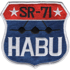 USAF SR-71 HABU SHIELD OKINAWA JAPAN MILITARY PATCH